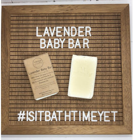 Is It Bath Time Yet? Lavender Baby Bar Soap