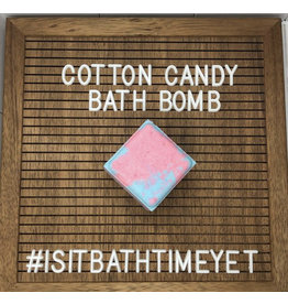 Is It Bath Time Yet? Cotton Candy Bath Bomb