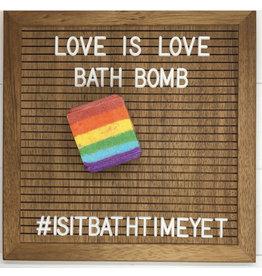 Is It Bath Time Yet? Love is Love Bath Bomb