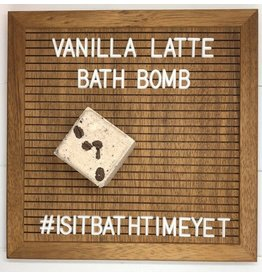 Is It Bath Time Yet? Vanilla Latte Bath Bomb