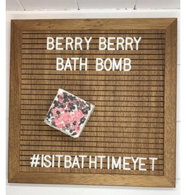 Is It Bath Time Yet? Berry Berry Bath Bomb
