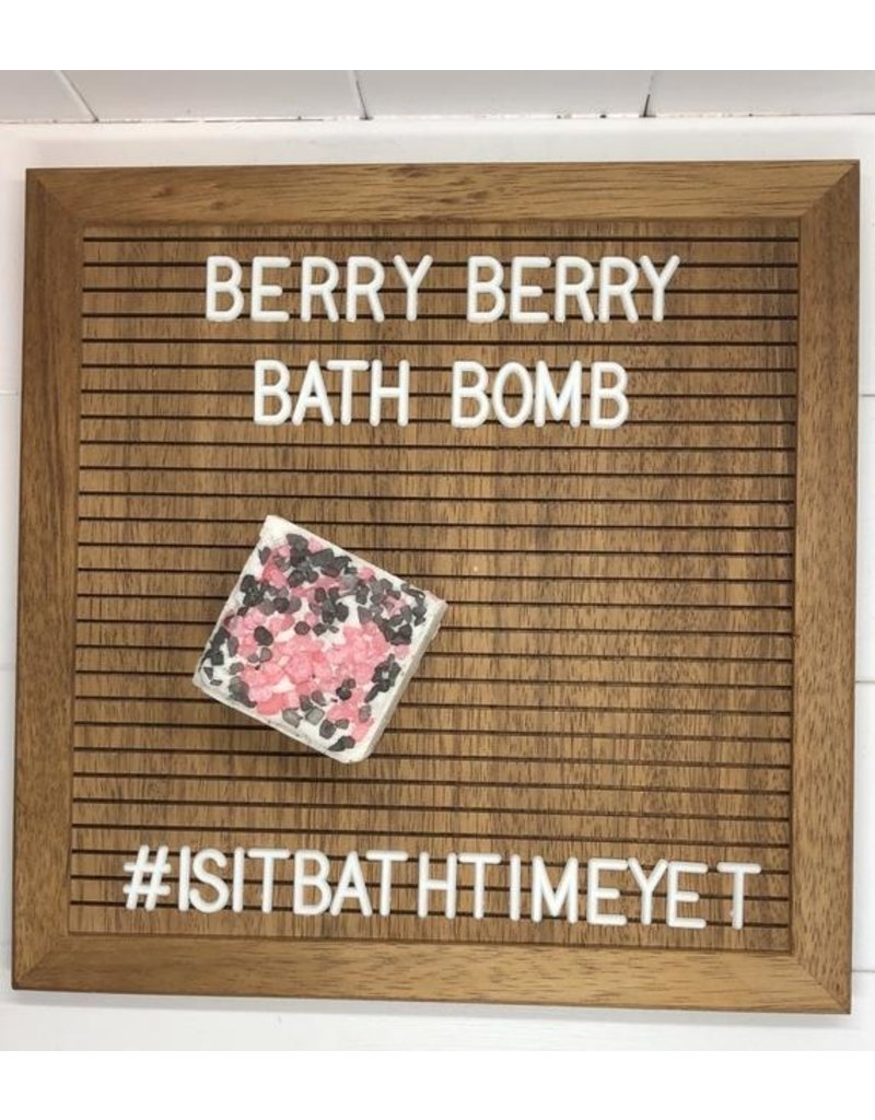 Is It Bath Time Yet? Berry Berry Bath Bomb