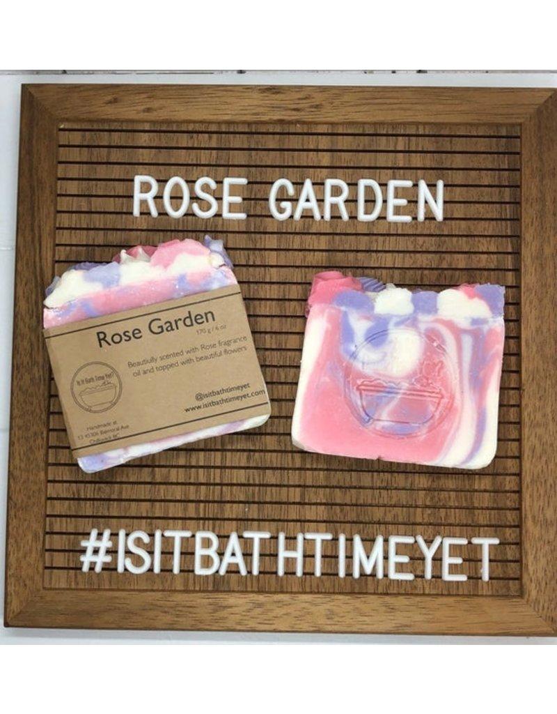 Is It Bath Time Yet? Rose Garden Soap