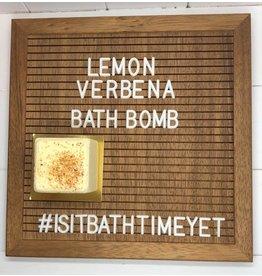 Is It Bath Time Yet? Lemon Verbena Bath Bomb