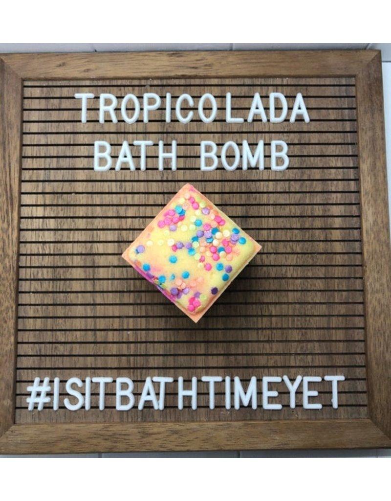 Is It Bath Time Yet? Tropicolada Bath Bomb