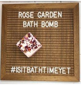 Is It Bath Time Yet? Rose Garden Bath Bomb