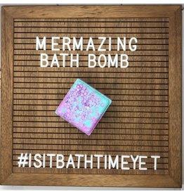 Is It Bath Time Yet? Mermazing Bath Bomb