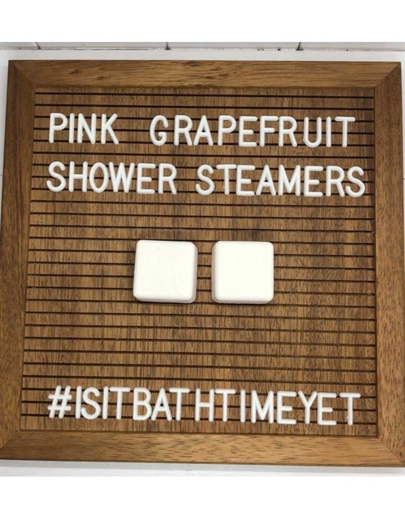 Is It Bath Time Yet? Pink Grapefruit Shower Steamer