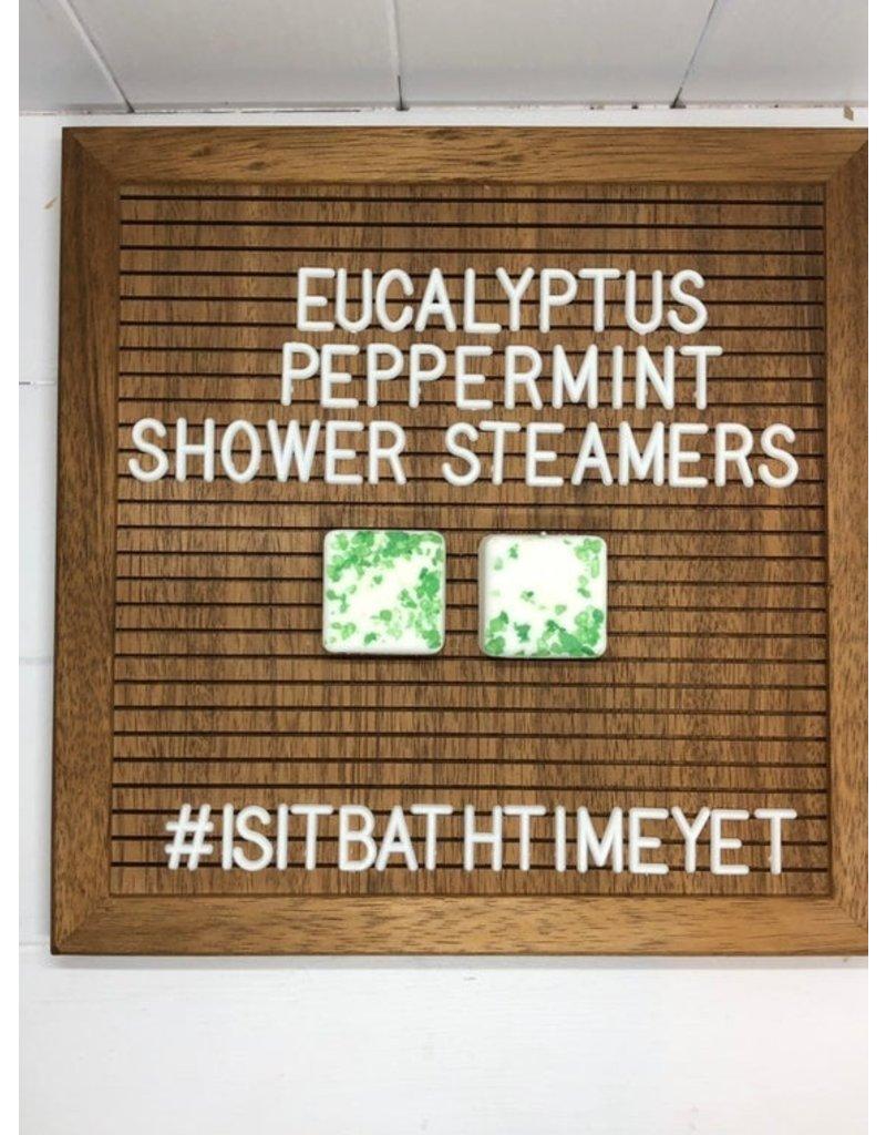 Is It Bath Time Yet? Eucalyptus Peppermint Shower Steamer