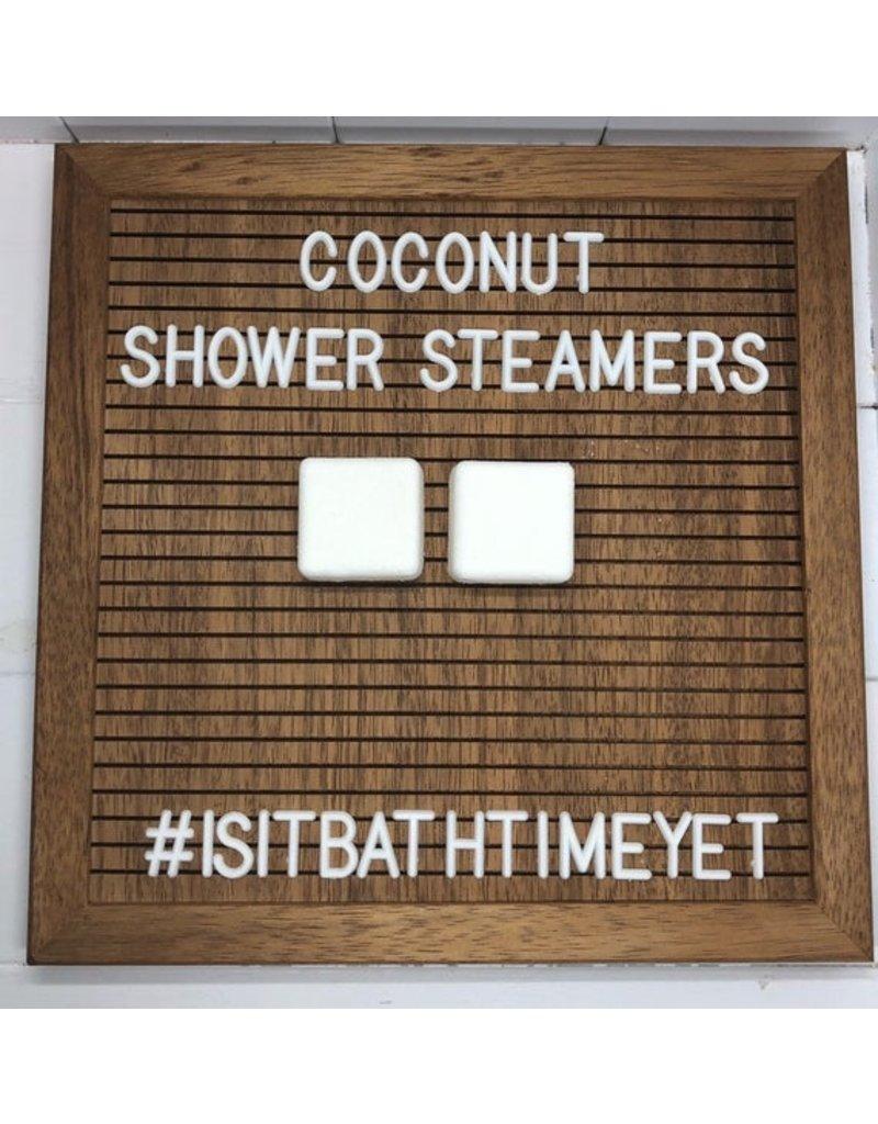 Is It Bath Time Yet? Coconut Shower Steamer