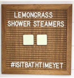 Is It Bath Time Yet? Lemongrass Shower Steamer