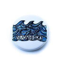 Kindred Coast Seas the Day Pin