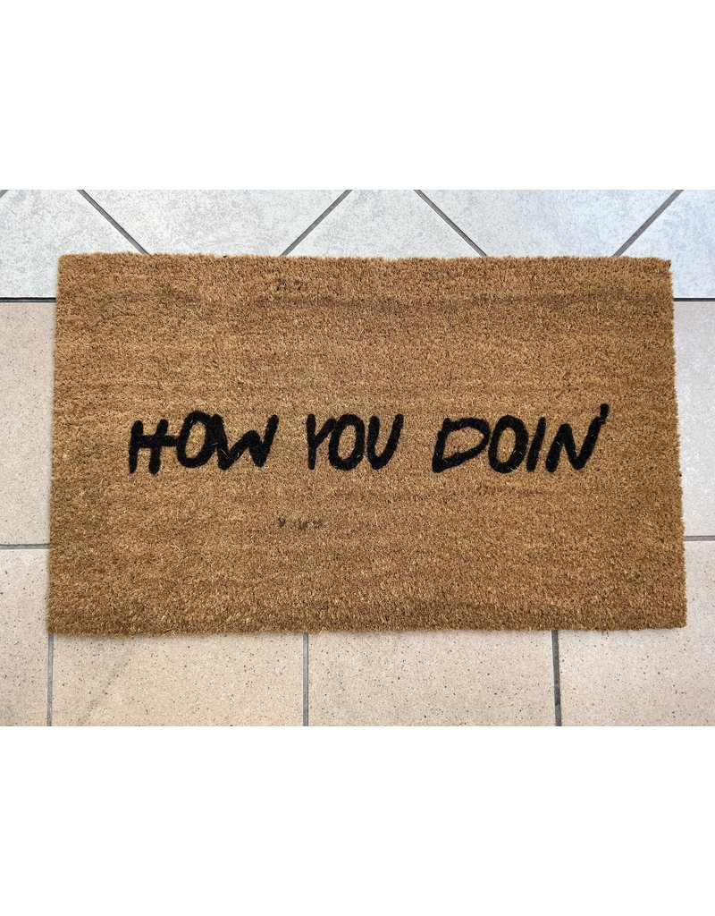 Aspen Blue Co How You Doin' Doormat
