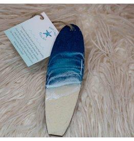 West Coast Resin Art Mini Surfboard -1