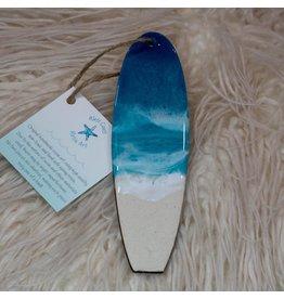 West Coast Resin Art Mini Surfboard- 2