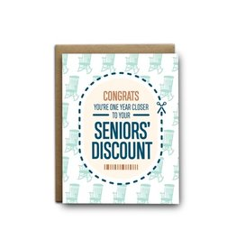 I'll Know It When I See It Seniors Discount Birthday Card