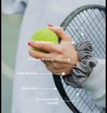Supercrush Grey Sport Scrunchie