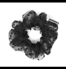 Supercrush Boudoir Black Scrunchie