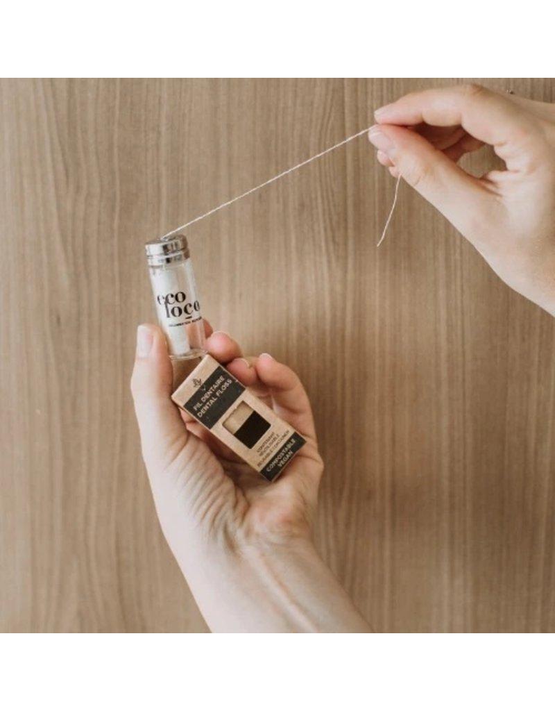 Eco Loco Vegan Dental Floss - Bottle