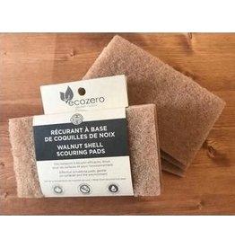 Eco Loco Walnut Scouring Pads - Individual