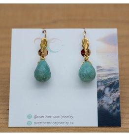 Over the Moon Jewelry Alpen Gem Drop Pendant Earrings