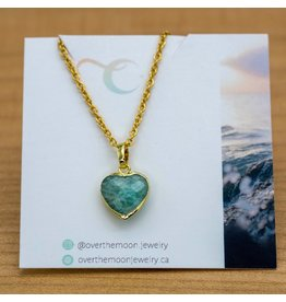 Over the Moon Jewelry Heart Alpen Gem Necklace