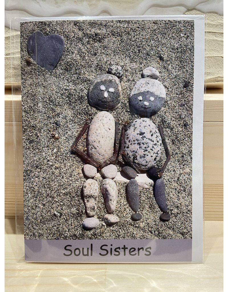 Nature Rocks Greeting Cards Soul Sisters