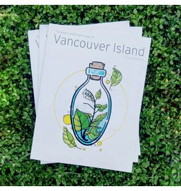Amanda Key Design Vancouver Island Coloring Book
