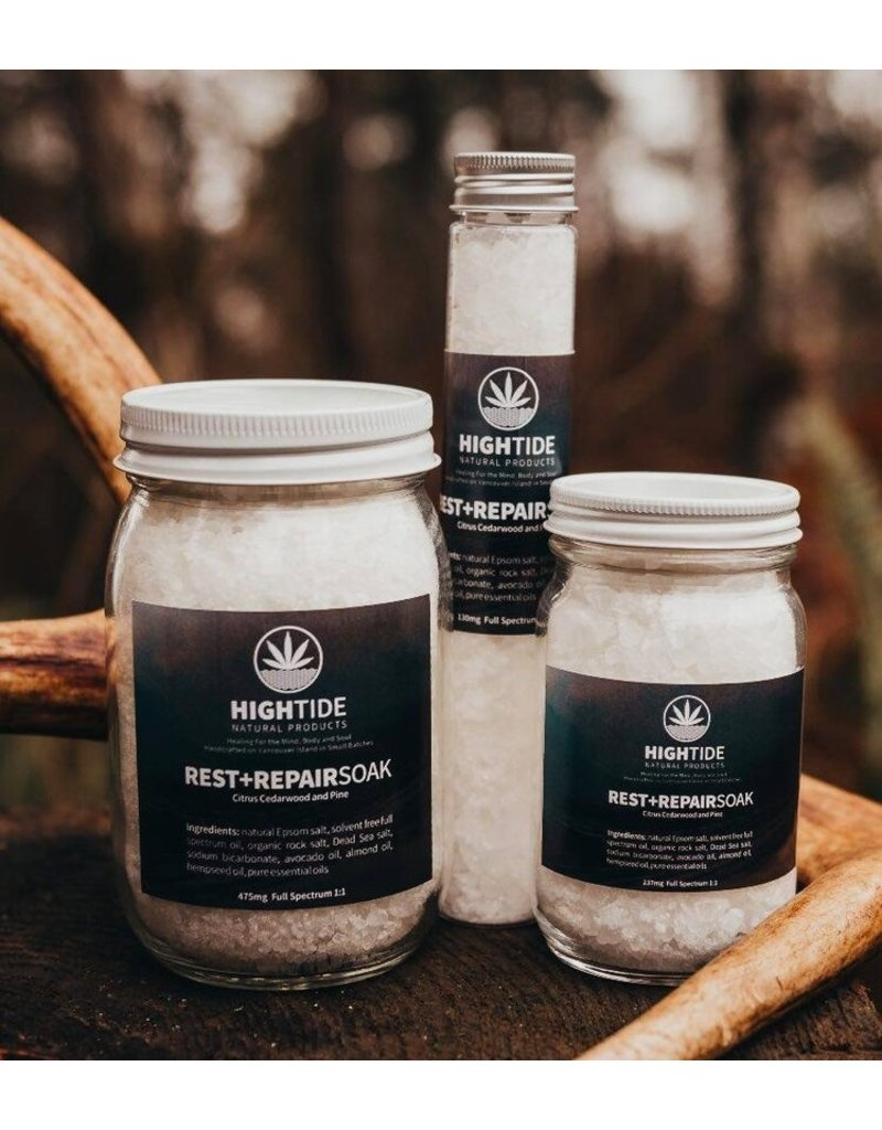 Hightide Designs Rest and Repair Soak Small Jar