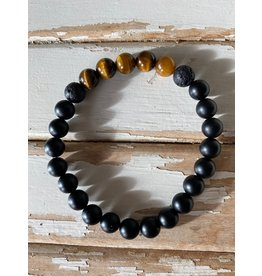 Orka Gems Tiger Eye & Onyx