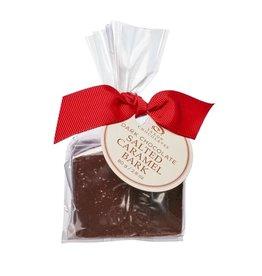 Saxon Chocolates Dark Chocolate Salted Caramel Bark Bag