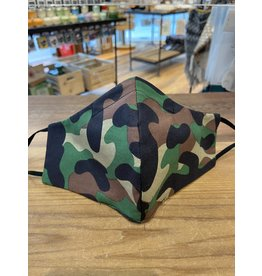 Buffy's Face Diapers Green Camo Mask