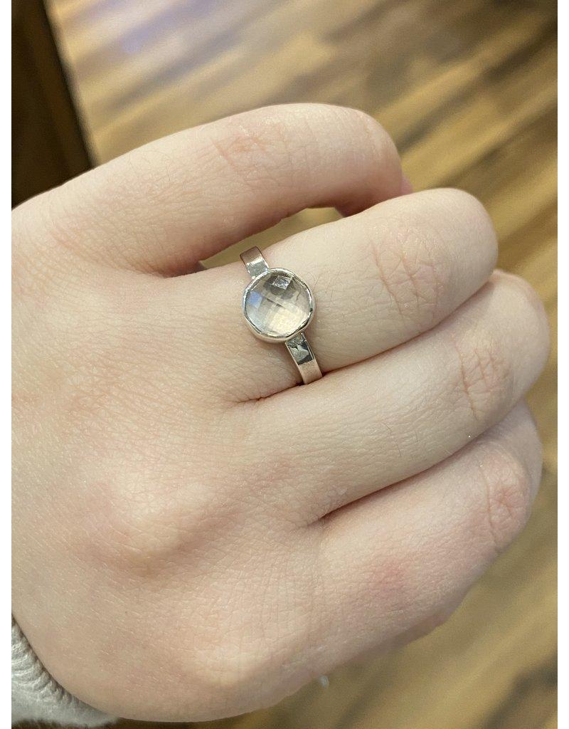 Blackbird Silversmith Quartz Ring #13