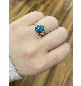 Blackbird Silversmith Turquoise Ring #16