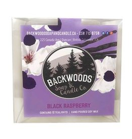 Backwoods Soap & Co Blackraspberry Tealights