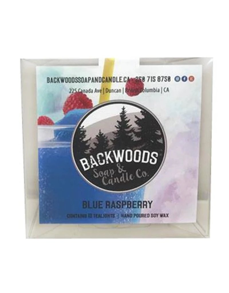 Backwoods Soap & Co Blue Raspberry Tealights