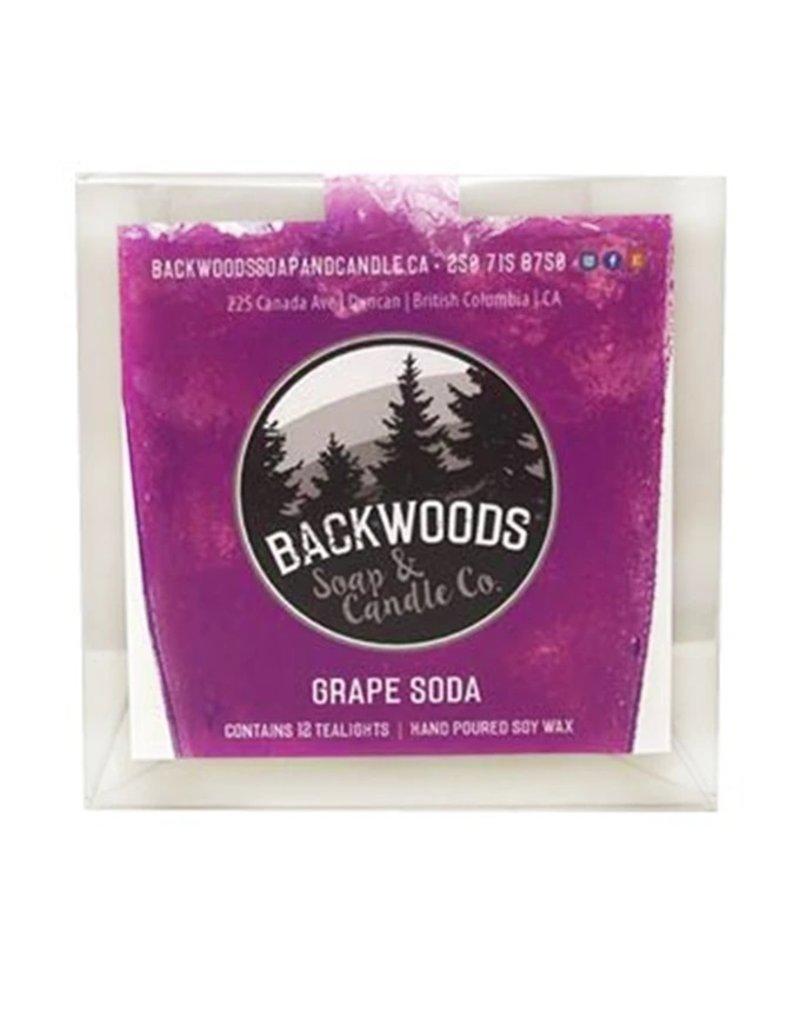 Backwoods Soap & Co Grape Soda Tealights