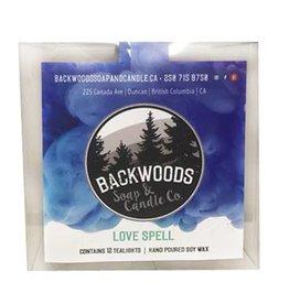 Backwoods Soap & Co Lovespell Tealights