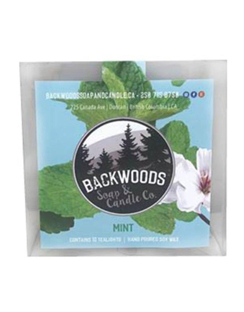 Backwoods Soap & Co Mint Tealights
