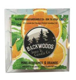 Backwoods Soap & Co Mint Bergamot Orange Tealights