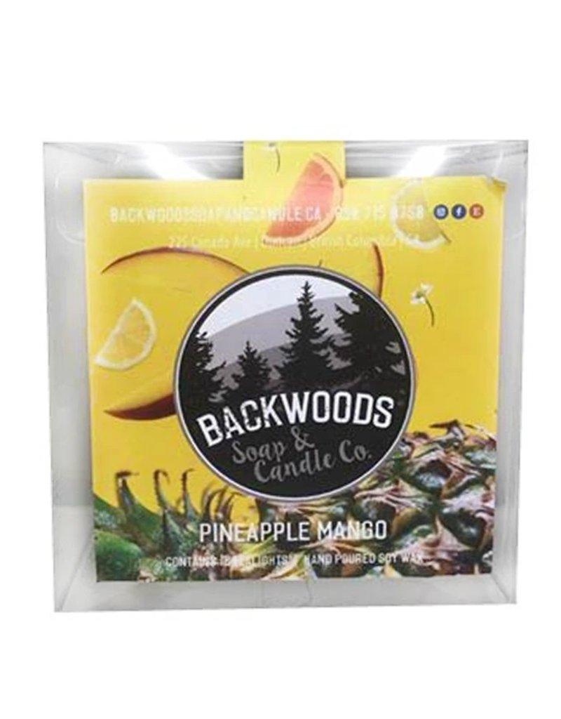 Backwoods Soap & Co Pineapple Mango Tealights