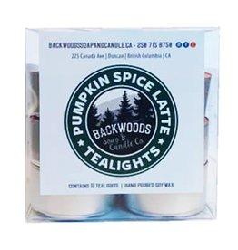 Backwoods Soap & Co Pumpkin Spice Tealights