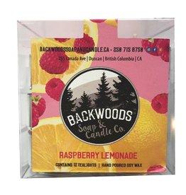 Backwoods Soap & Co Raspberry Lemonade Tealights