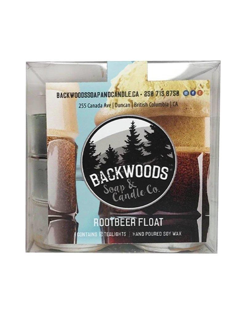 Backwoods Soap & Co Rootbeer Tealights