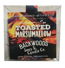 Backwoods Soap & Co Toasted Marshmallow Tealights