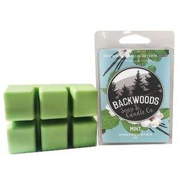 Backwoods Soap & Co Mint Wax Melt