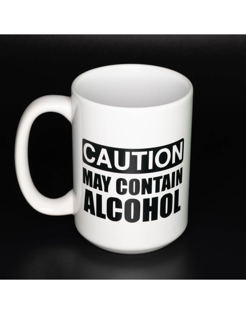 Cultured Coast Caution May Contain Alcohol 15oz Mug