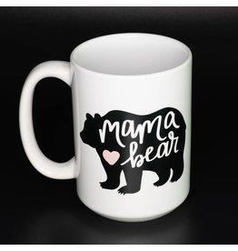 Cultured Coast Mama Heart w/heart 15oz Mug