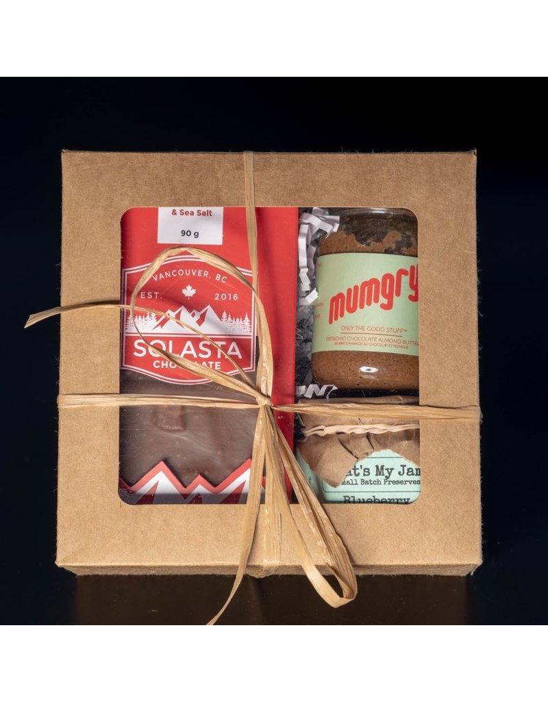 Cultured Coast Pistachio Almond Butter + Blueberry Limoncello Jam Gift Box