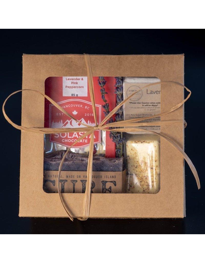 Cultured Coast Lemon Lavender Chocolate Gift Box